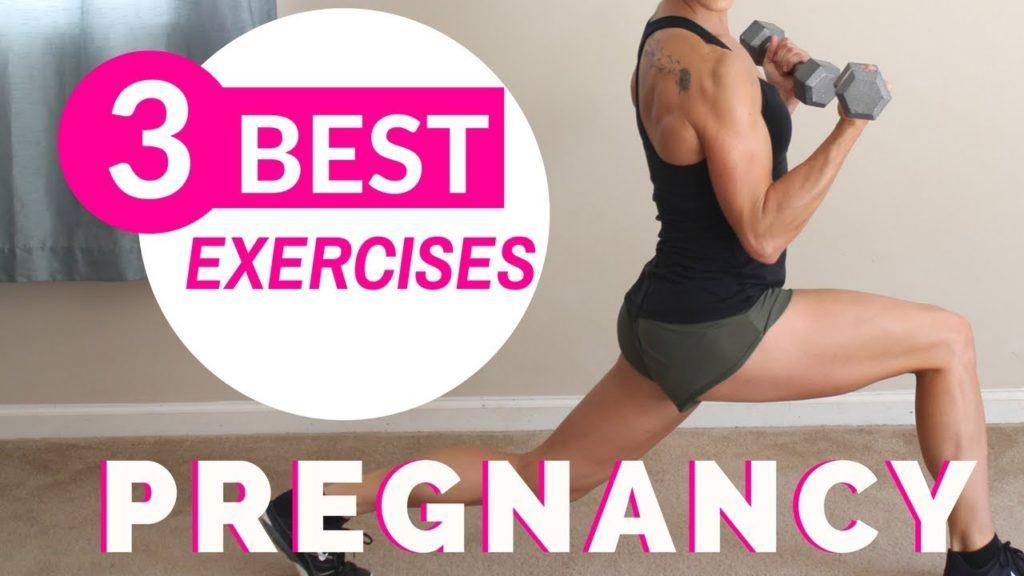 3 Best Prenatal Exercises | Pregnancy Workout At Home - Prenatal Workouts Videos - 2021