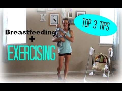 3 Must-Know Facts For Breastfeeding While Exercising   Milk Supply - Postpartum Workouts Videos - 2021