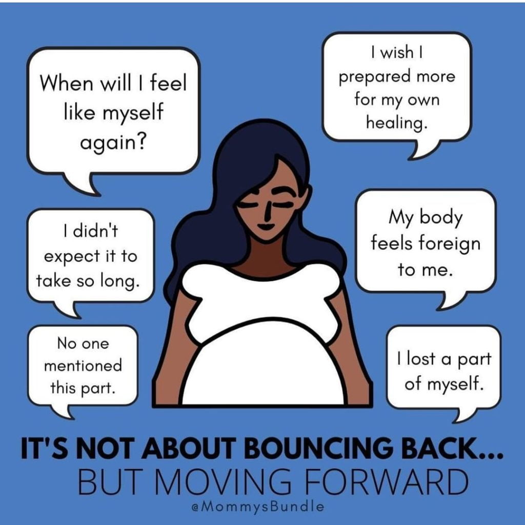 How Many Times Have You Heard The Phrase, Bounce Back?  It'S A Popular Saying When It Comes To Getting Back To The Way Things Were. But For Life After Baby, It Really Doesn'T Make Sense.   Birthing A ...