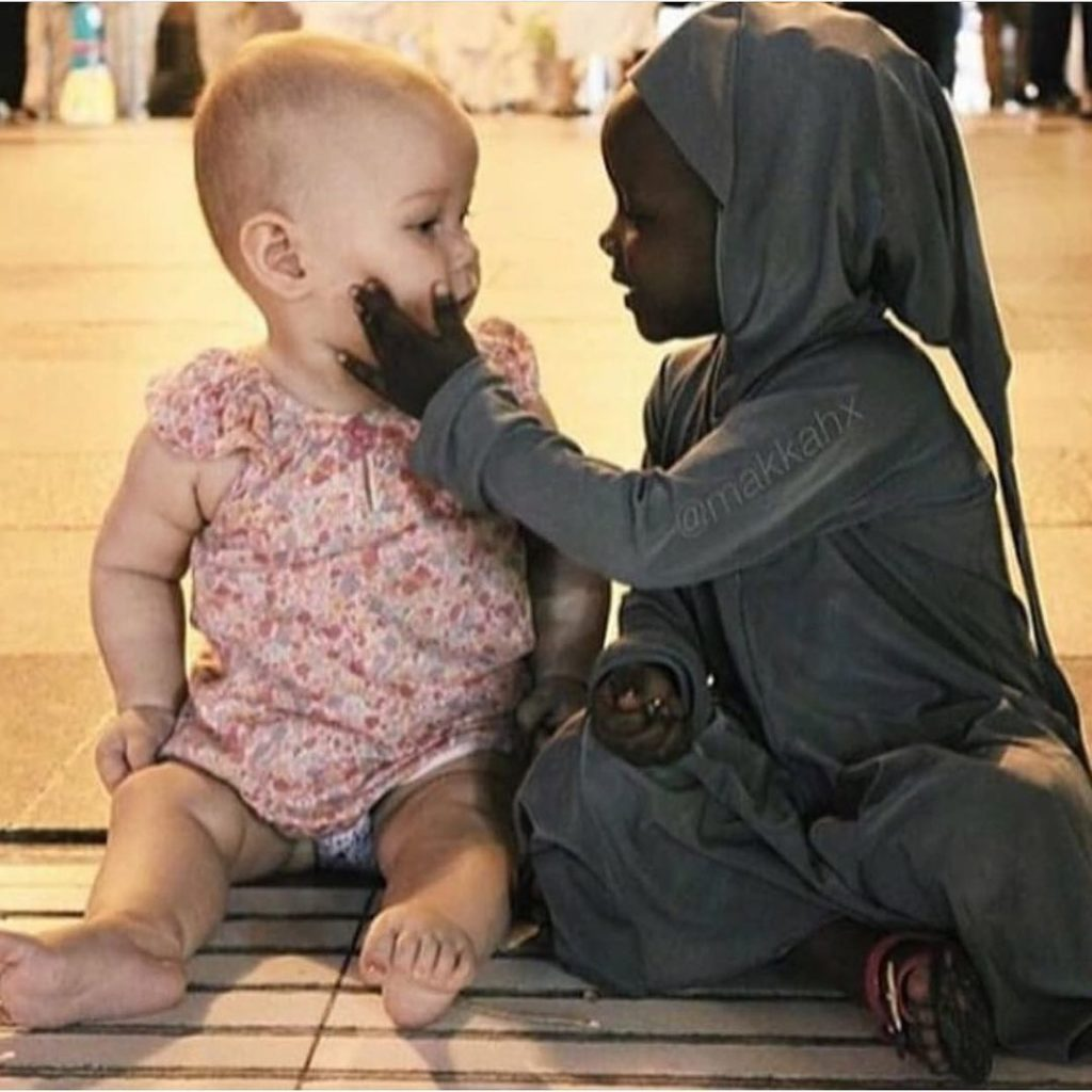 Love Doesn't Know Any Race Or Religion And Children Are Its Proof   . .   ...