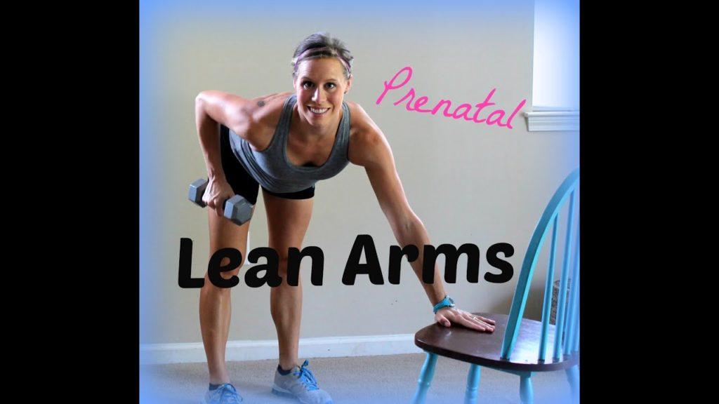 Prenatal Lean Arms: Get Rid Of Underarm Jiggle - Prenatal Workouts Videos - 2021