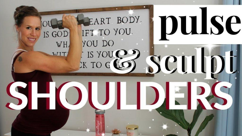 Pulse &Amp; Sculpt Shoulders   Prenatal 1St, 2Nd, 3Rd Trimester Safe - Prenatal Workouts Videos - 2021