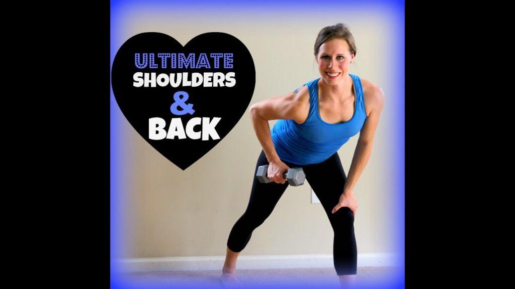 Ultimate Shoulders &Amp; Back: 1St &Amp; 2Nd Trimester Prenatal Workout - Prenatal Workouts Videos - 2021
