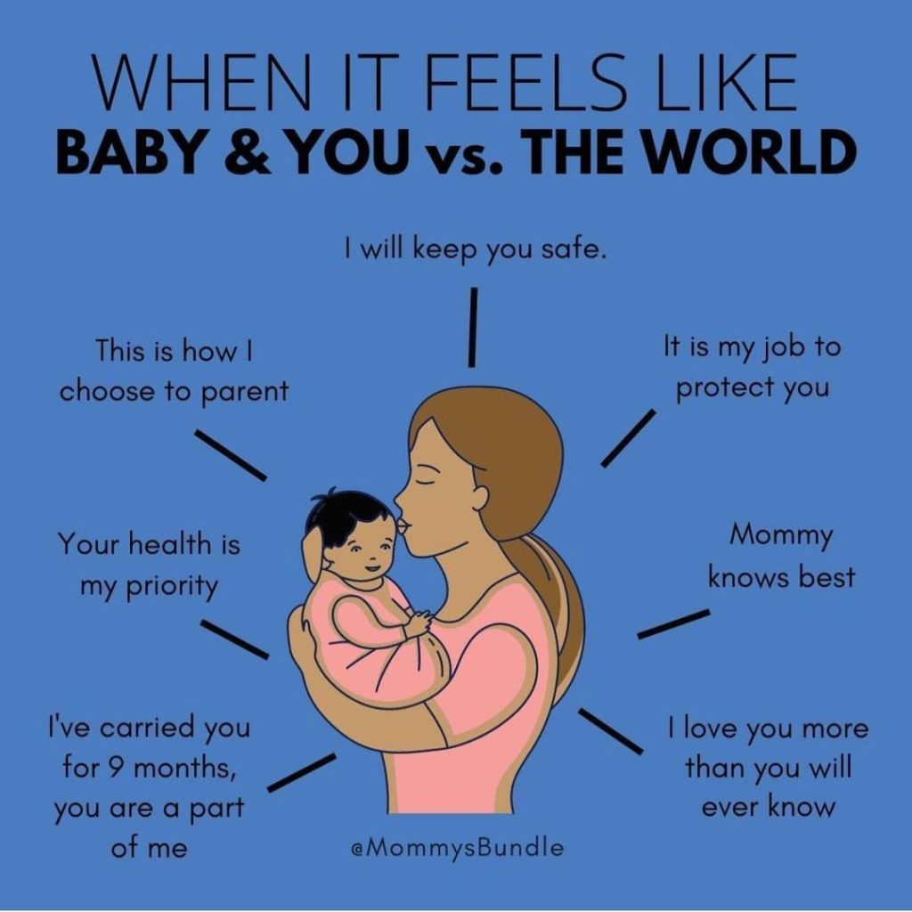 Have You Ever Felt Like It Was You + Baby Vs The World?  It's Natural To Feel Su...