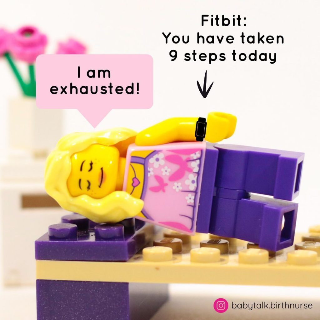 Oh, Shut Up Fitbit! Are You Making A Human??!?    What A Pain In The Fitbutt! ...