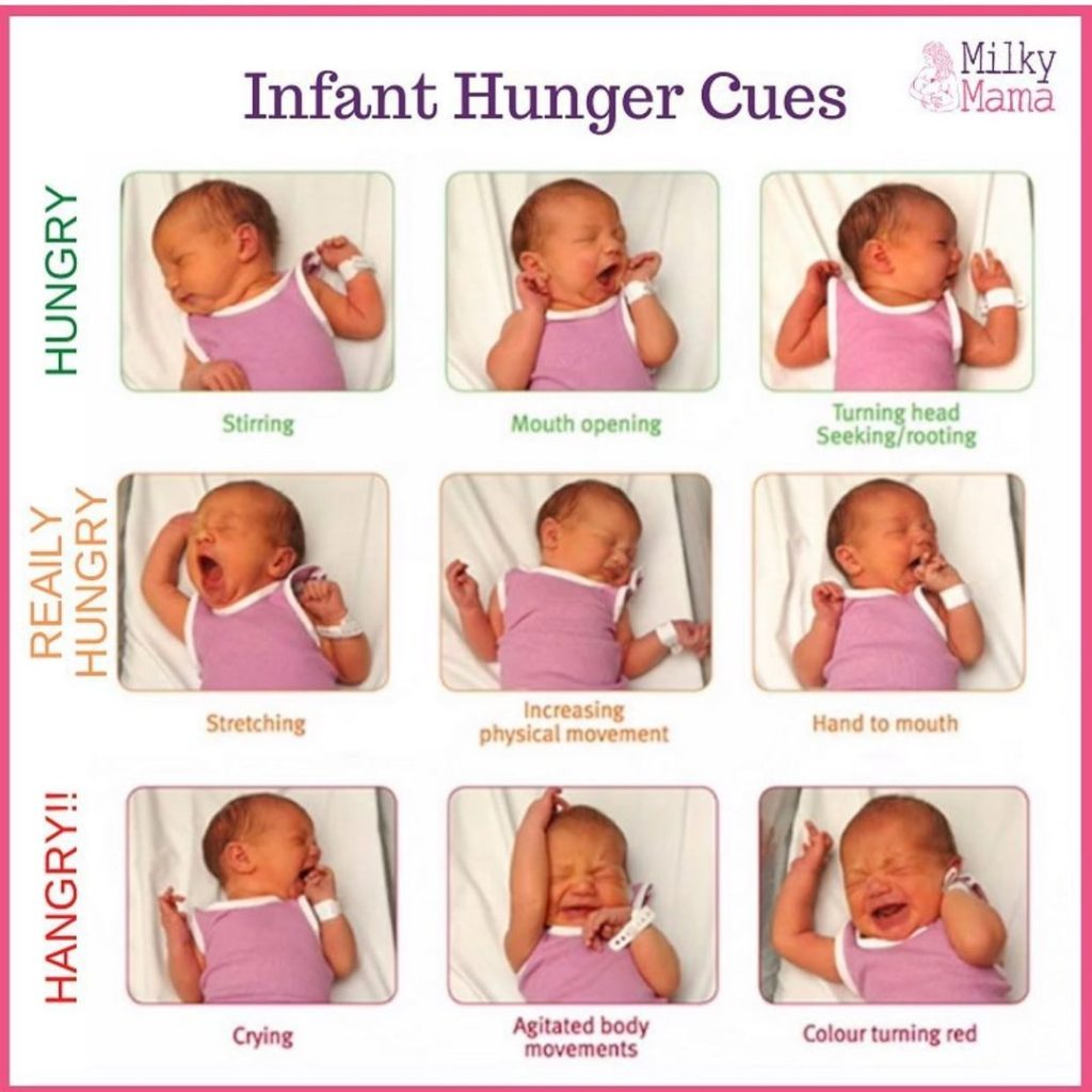 The First Step To Latching Your Baby Is Knowing When They'Re Hungry!  Did You Kn...